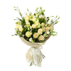 букет с розами на день рождения